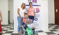 Durante el año 2018, la Gobernación del Magdalena hizo diversas entregas de ayudas técnicas como sillas de rueda.