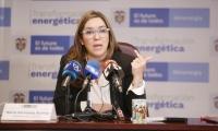 María Fernanda Suárez, Ministra de Minas y Energía.