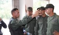 Militares venezolanos desertores.