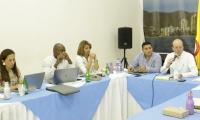 El pasado 15 de abril se reunió la junta directiva de la Essmar en la Alcaldía.