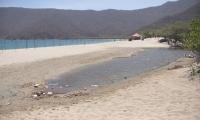 En Bahía Concha se detectaron daños ambientales.