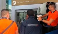 El hombre fue expulsado de Colombia por diferentes actuaciones 'indebidas'