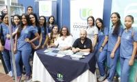 Participación de la UCC en la Feria del Libro de Santa Marta.