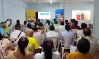 La jornada pedagógica se realizó en la Institución Educativa Gabriel García Márquez de Aracataca y la Tercera Mixta de Fundación.