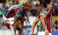 Joao Pedro celebrando uno de los goles de su tripleta frente al Nacional.
