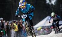 La ciclista paisa dejó claro que es la reina del BMX.