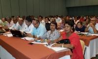 con la asistencia de los rectores del Departamento,  se desarrolló  en Santa Marta la jornada de apertura del  I Ciclo de formación de directivos docentes del PTA  y Jornada Única.