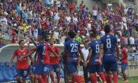 El Unión picó adelante con gol del juvenil samario.
