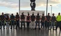 Catorce capturados con fines de extradición.