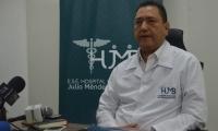 Tomás Díazgranados, gerente del Hospital Julio Méndez Barreneche