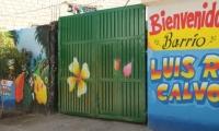 Fachada transformada en Luis R. Calvo