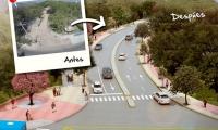Avenida del Río antes y después