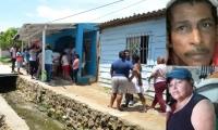 Lugar de los hechos y fotos en vida de Jorge Ahumada Navarro e Irma Barrios Villalba.