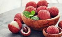 Lichi, fruta exotica originaria de China.