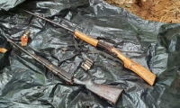 Armas del Clan del Golfo halladas en Guamal.