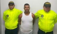 Alias 'Joaco', capturado en Riohacha.