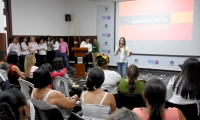 Las capacitaciones se realizaron del 10 al 12 de junio en el salón de la librería del Claustro San Juan Nepomuceno.