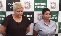 Rosana Cândido y Kacyla Pessoa.