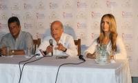 Luis Eduardo Cuello, Raimundo Angulo y Diana Caballero