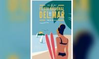 Afiche oficial de las Fiestas del Mar 2019