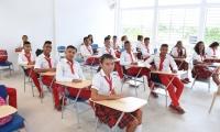 273 estudiantes de Fundación se benefician con una moderna sede.