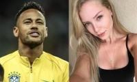 Neymar y modelo Najila Trindade