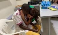 La directora del Icbf, Juliana Pungiluppi., visitó a los cuatro huérfanos de la líder social María del Pilar Hurtado.