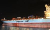El buque de contenedores de Maersk.