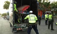 La Udep realizaba los operativos de recuperación del espacio público en la ciudad.