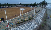 Los cienagueros podrán disfrutar de nuevos espacios deportivos