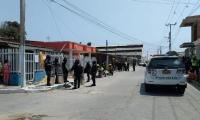 En esta zona del barrio Rebolo asesinaron al 'Negro Bola'.