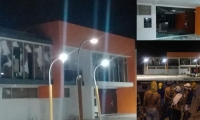 Así quedó la Alcaldía de Fonseca tras la asonada.