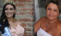 Señorita Magdalena (izq) y Marta Abello, presidente del Comité de Belleza del Magdalena.