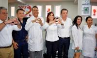 Gobernación pone al servicio de los magdalenenses atención en cardiología en el Hospital Julio Méndez Barreneche.