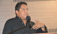 El director de Santa Marta Cómo Vamos, Lucas Gutiérrez.