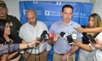 Rueda de prensa sobre anuncio de aumento en recompensa para esclarecer crimen de Maritza Quiroz.