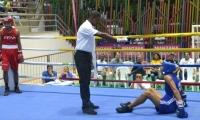 Los combates se desarrollan en el Coliseo de Gaira.
