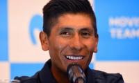Nairo Quintana, ciclista colombiano del Movistar Team.