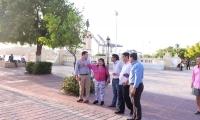 La Directora del IPES visitó varios puntos de la ciudad junto a miembros del Gabinete Distrital.