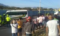 Doble asesinato dentro de bus en La Troncal