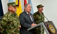 Ministro de Defensa Guillermo Botero