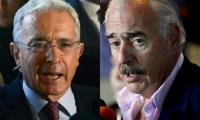 Álvaro Uribe y Andrés Pastrana