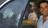 Haled Saghair Granados manejaba una camioneta Toyota Fortuner cuando le hicieron el atentado.