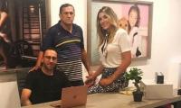 David Ospina, Hernán Ospina y Daniela Ospina.