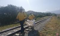 Jornada de limpieza en la vía Alterna
