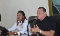 El ponente en primer debate fue el presidente del Concejo, Jaime Linero.