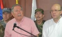El ministro de Defensa, Guillermo Botero, presidió un consejo de seguridad en Santa Marta.
