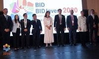 Representantes del Gobierno y de Barranquilla.
