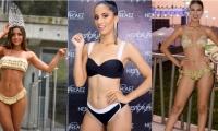 Laura Sofia Suárez Alvarado, Señorita Caldas; Leydis Johana Daza Orozco y Katty Julieth Palomino Benítez, Señorita La Guajira., Señorita Cesar y