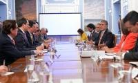 El Presidente Ivan Duque ratificó el respaldo a los bananeros de la Costa Atlántica y Urabá